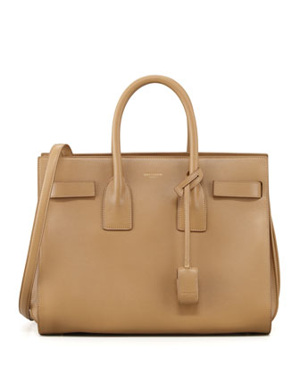 Sac du Jour Small Carryall Bag, Beige
