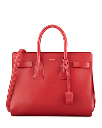 Sac du Jour Small Carryall Bag, Red