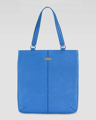 Village Flat Tote Bag, Blue