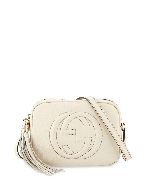 Soho Small Shoulder Bag, White