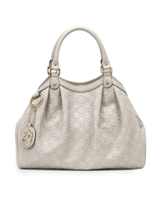 Sukey Medium Tote Bag, White