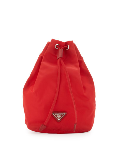 prada black nylon handbag neiman marcus