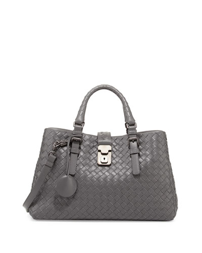 Roma Leggero Small Tote Bag, Gray