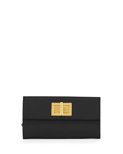 Natalia Continental Turn-Lock Wallet