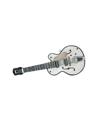 Acoustic/Electric Guitar Crystal Clutch Bag, Rhine Multi