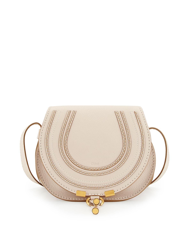 Marcie Small Crossbody Bag, White