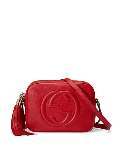 Soho Small Shoulder Bag, Red