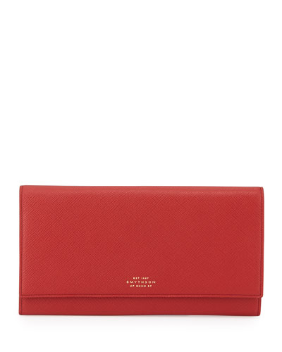 Panama Marshall Travel Wallet, Red