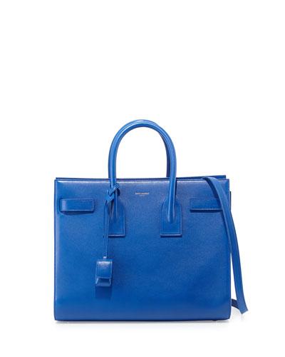 Sac de Jour Small Satchel Bag, Cobalt