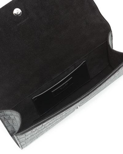 clutch replica - Saint Laurent Black Leather Bag | Neiman Marcus