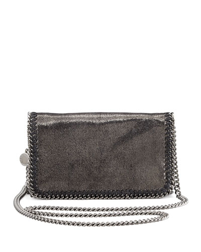 Falabella Crossbody Bag, Gray
