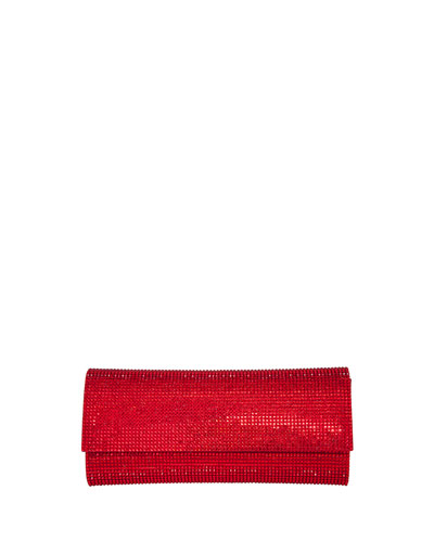 Ritz Fizz Crystal Clutch Bag, Siam
