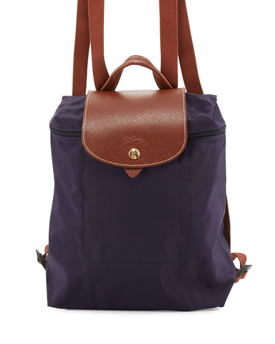 Le Pliage Nylon Backpack, Bilberry