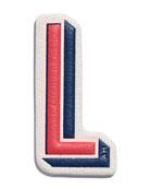 """""""L"""" Leather Sticker for Handbag"""
