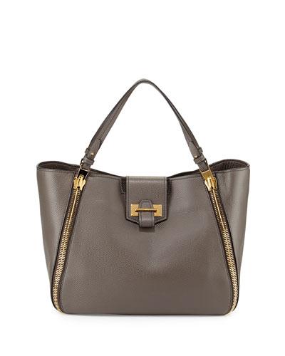 Sedgwick Medium Zip Tote Bag, Graphite