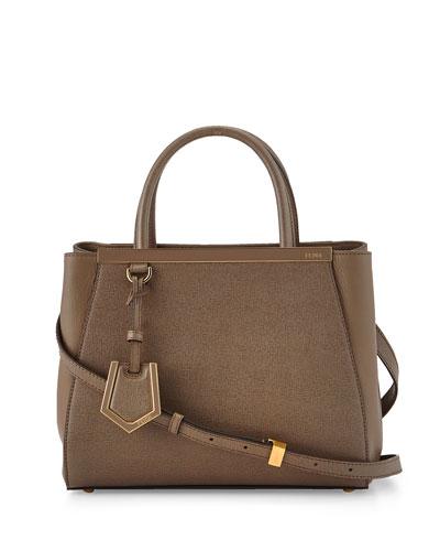 2Jours Petite Satchel Bag, Brown
