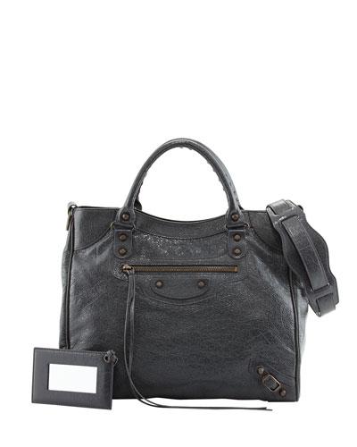 Classic Velo Bag, Dark Gray