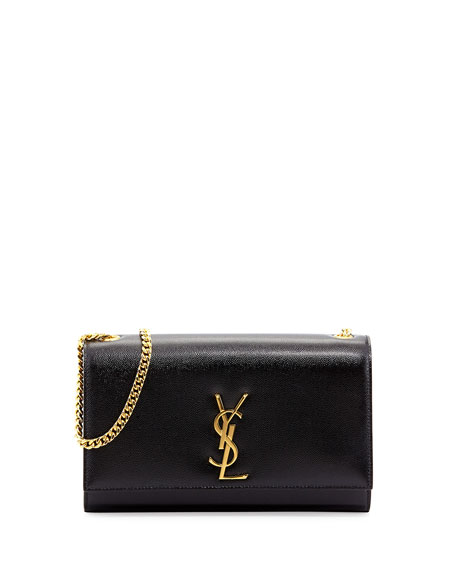 Saint Laurent Kate Medium Grain de Poudre Shoulder Bag
