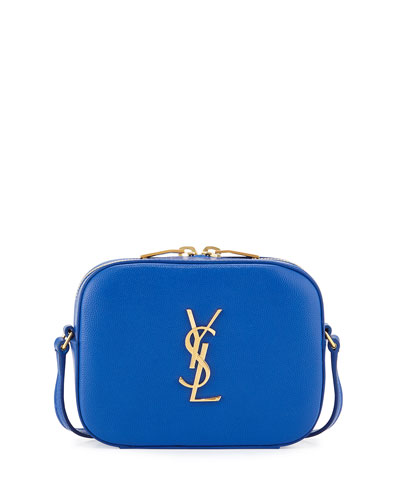 Monogram Camera Crossbody, Blue