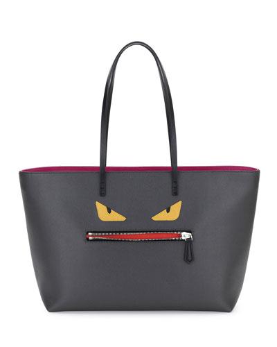 Monster Tote Bag, Gray