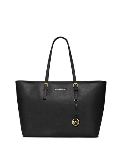 Jet Set Travel Medium Saffiano Tote Bag