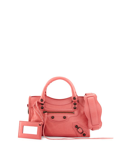 Classic City Mini AJ Bag, Rose