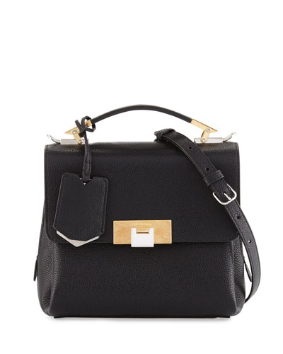 Le Dix Soft Mini Cartable Bag, Black