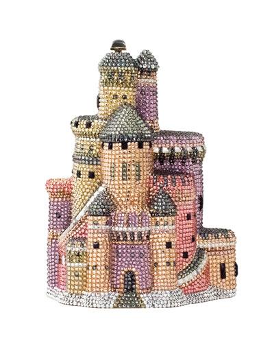 Castle Crystal Clutch Bag, Multi