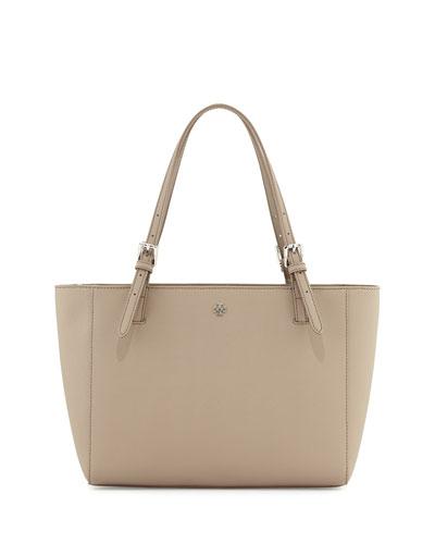 York Small Saffiano Leather Tote Bag