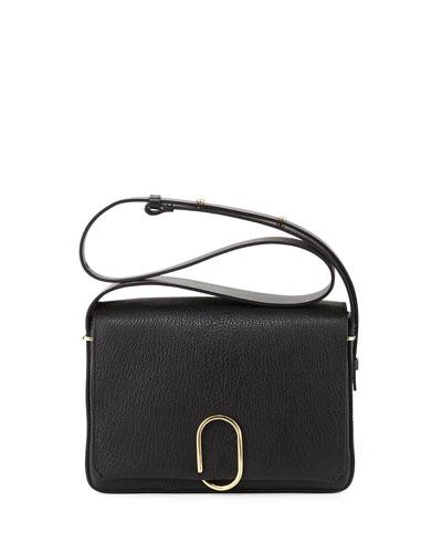 Alix Flap Shoulder Bag, Black