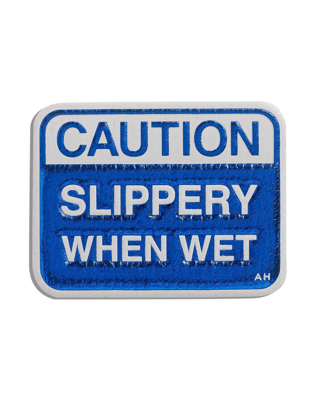Caution Slippery Sticker for Handbag
