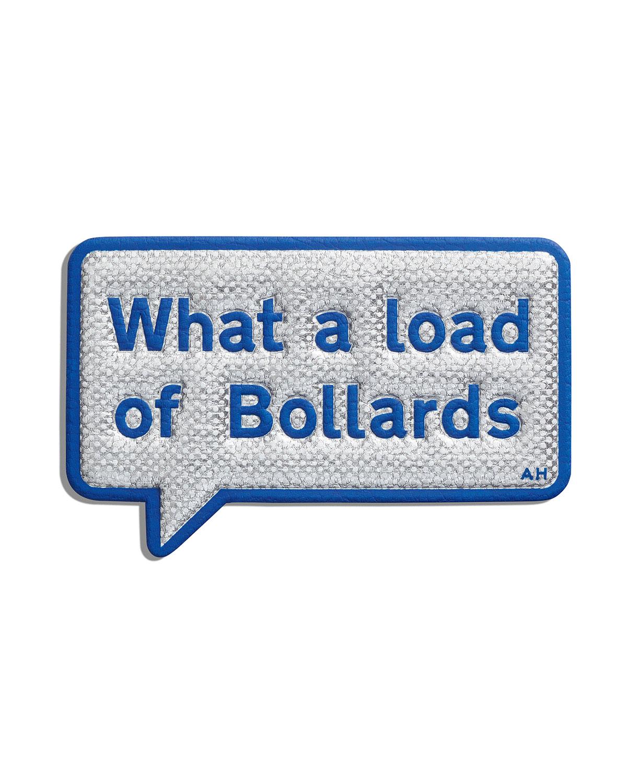 Bollards Statement Sticker for Handbag