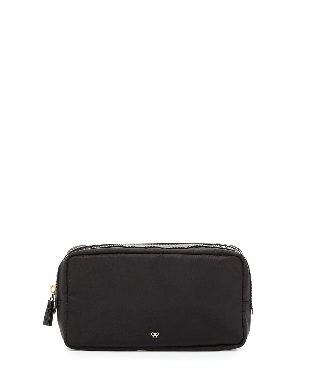 Cables and Chargers Nylon Pouch, Black