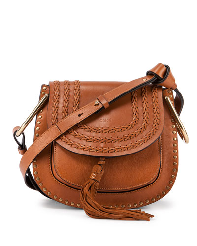Hudson Medium Shoulder Bag, Caramel