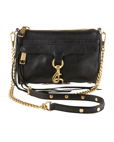 Mini MAC Crossbody Bag, Black