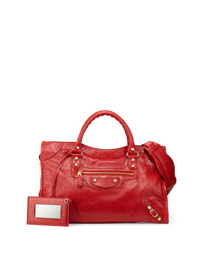Giant 12 Golden City Bag, Red