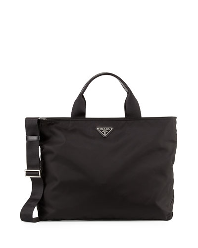 Vela Tote Bag w/ Zip Top & Web Strap