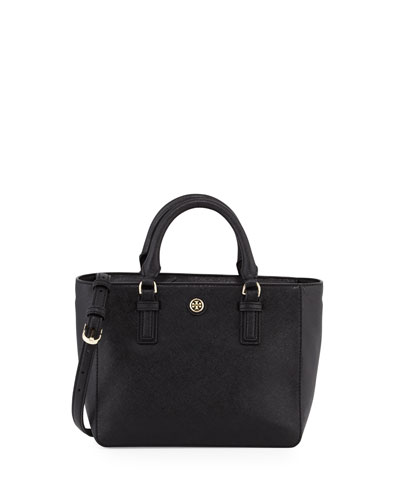 Robinson Mini Square Tote Bag, Black