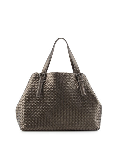 A-Shape Large Woven Tote Bag