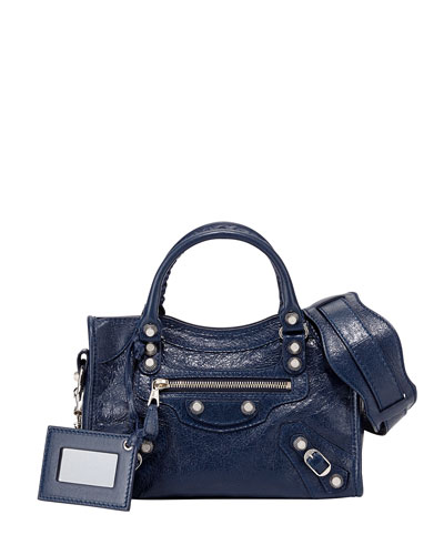 Giant 12 Nickel City Mini Satchel Bag, Blue