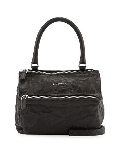 Pandora Pepe Small Satchel Bag, Black