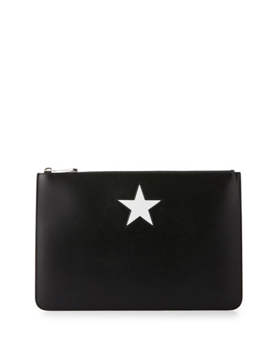 Star Small Calfskin Pouch