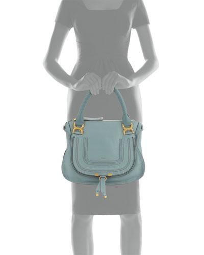 Chloe Blue Leather Handbag | Neiman Marcus