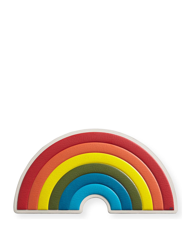 Oversized Rainbow Sticker for Handbag