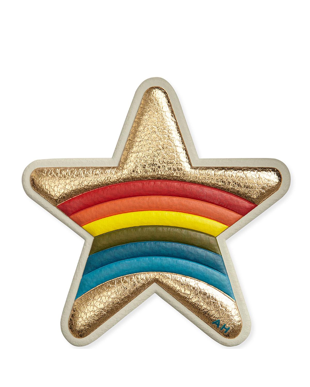 Rainbow Star Sticker for Handbag