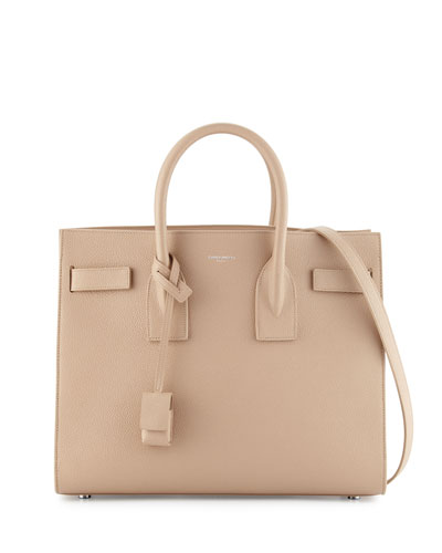 Sac de Jour Small Satchel Bag, Dark Beige