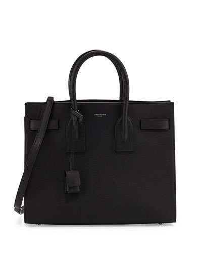 Sac de Jour Small Satchel Bag, Black (Noir)