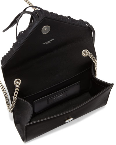 ysl black clutch bag - Black Fringe Bag | Neiman Marcus