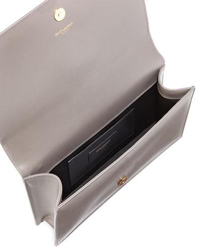 yves saint laurent discount handbags - Saint Laurent Gray Calfskin Bag | Neiman Marcus