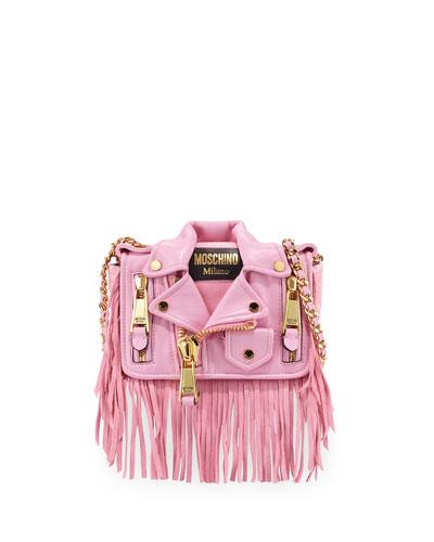 Jacket Shoulder Bag, Pink